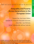 Inequality and Poverty Across Generations in the EU